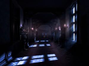 The_hallway_of_Gloomy_Manor